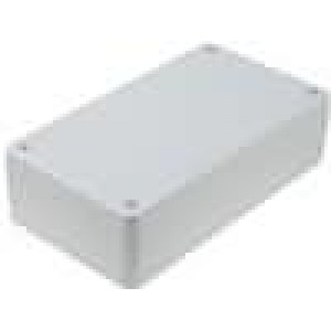 Krabička univerzální X:84,5mm Y:154mm Z:42,5mm polystyrén šedá