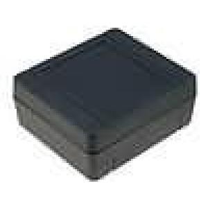 Krabička univerzální X:79mm Y:89mm Z:38mm polystyrén černá