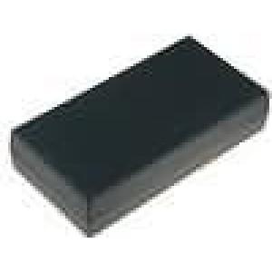Krabička univerzální X:55mm Y:106mm Z:23,5mm polystyrén černá