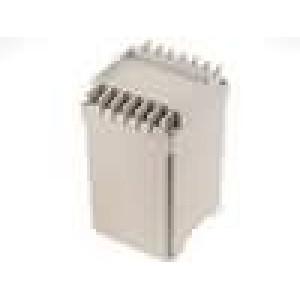 Kryt na přípojnici DIN X:65mm Y:70mm Z:112,6mm ABS
