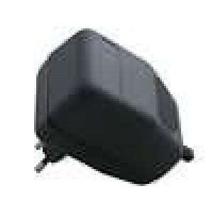 Kryt pro napájecí zdroj větraná X:62mm Y:85mm Z:50mm černá