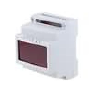 Kryt na přípojnici DIN X:69,8mm Y:89mm Z:64,6mm polystyrén
