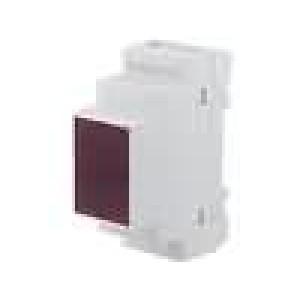 Kryt na přípojnici DIN X:35mm Y:90mm Z:65mm ABS šedá UL94V-0