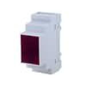 Kryt na přípojnici DIN X:35mm Y:90mm Z:65mm polystyrén šedá