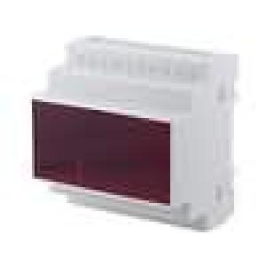 Kryt na přípojnici DIN X:87,5mm Y:90mm Z:65mm polystyrén
