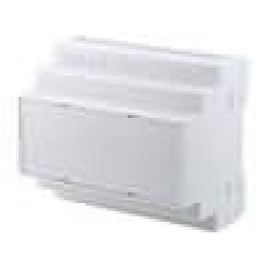 Kryt na přípojnici DIN X:105mm Y:90mm Z:65mm polystyrén šedá