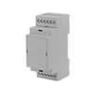 Kryt na přípojnici DIN X:36,3mm Y:90,2mm Z:57,5mm ABS šedá
