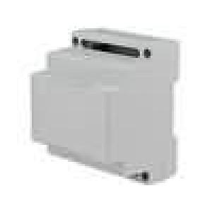 Kryt na přípojnici DIN X:70mm Y:89mm Z:64,6mm polystyrén