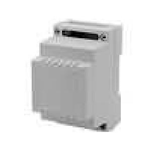 Kryt na přípojnici DIN X:53,4mm Y:89,4mm Z:65,2mm polystyrén