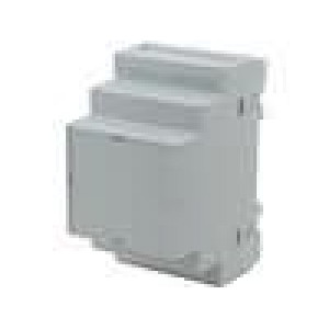 Kryt na přípojnici DIN X:52,5mm Y:90mm Z:65mm polystyrén