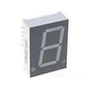 LED display jednomístný 7-segmentový 20,4mm   anoda