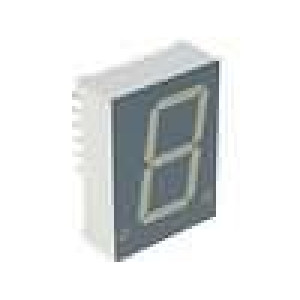 LED display jednomístný 7-segmentový 20,32mm   katoda