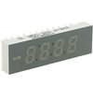 LED display čtyřmístný 7-segmentový 6,2mm   anoda
