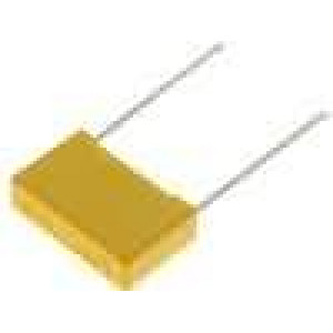 Kondenzátor polypropylénový 680pF 2kVDC 15mm 18x6x12mm