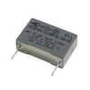 MKPX2-100NR15 Kondenzátor X2,polypropylénový 100nF 15mm ±20% 5x11x18mm