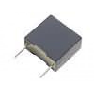 MKPX2-33NR15 Kondenzátor X2,polypropylénový 33nF 15mm ±20% 5x11x18mm