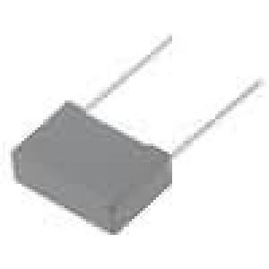 MPBX2-100NR10 Kondenzátor X2,polypropylénový 100nF 10mm 13x6x12mm