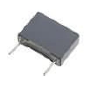 Kondenzátor polyesterový 1uF 100V rozteč 15mm 5x11x18mm