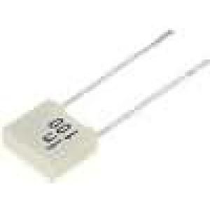 Kondenzátor polyesterový 1nF 100V rozteč 5mm -55-105°C