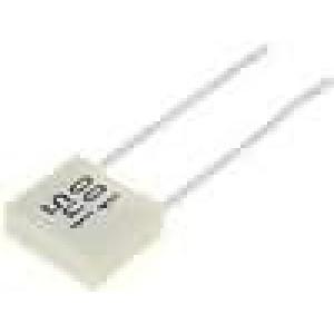 Kondenzátor polyesterový 1,5nF 100V rozteč 5mm