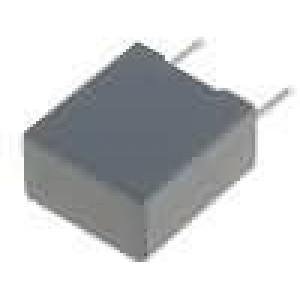 Kondenzátor polyesterový 100nF 400V rozteč 7,5mm