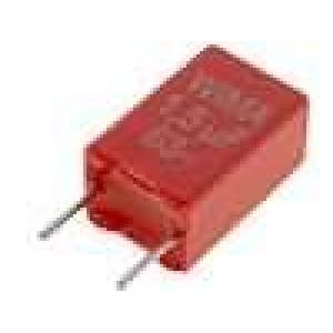 Kondenzátor polyesterový 1,5uF 40VAC 63VDC rozteč 5mm