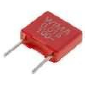 Kondenzátor polyesterový 15nF 63VAC 100VDC rozteč 5mm