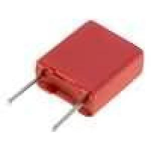 Kondenzátor polyesterový 1uF 30VAC 50VDC rozteč 5mm