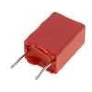 Kondenzátor polyesterový 1uF 40VAC 63VDC rozteč 5mm