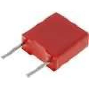 Kondenzátor polyesterový 220nF 40VAC 63VDC rozteč 5mm