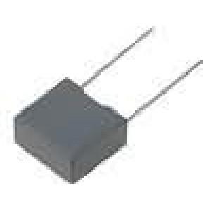 Kondenzátor polyesterový 100nF 250VDC rozteč 10mm