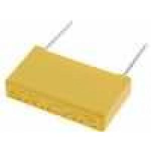 Kondenzátor polyesterový 100nF 630VDC rozteč 10mm