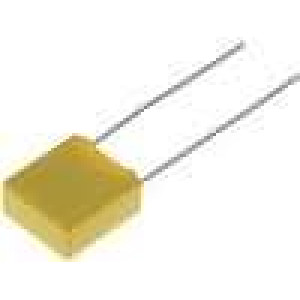 Kondenzátor polyesterový 10nF 630VDC rozteč 7,5mm