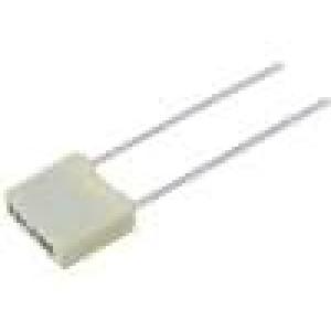 Kondenzátor polyesterový 33nF rozteč 5mm ±5% 2,5x6,5x7,2mm