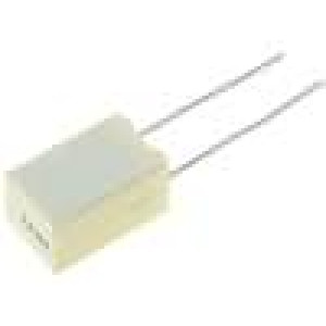 Kondenzátor polyesterový 1uF rozteč 5mm ±5% 6x11x7,2mm
