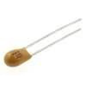 Kondenzátor tantalový THT 10uF 25V ±20% -55-85°C 2,54mm