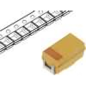 Kondenzátor polymerový tantalový 100uF 2,5V A ESR:200mΩ