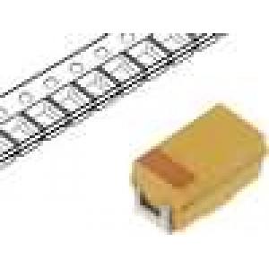 Kondenzátor polymerový tantalový 15uF 10V A ESR:200mΩ