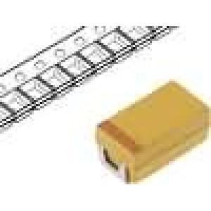 Kondenzátor polymerový tantalový 22uF 25V C ESR:100mΩ
