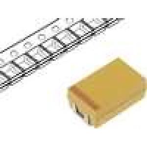Kondenzátor polymerový tantalový 10uF 50V D ESR:120mΩ