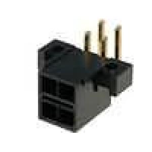 Konektor kabel-pl.spoj řada Mini-Fit TPA zásuvka vidlice