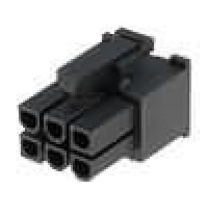 Konektor kabel-pl.spoj řada Mini-Fit Jr zástrčka zásuvka