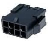 Zástrčka kabel-pl.spoj vidlice 3mm 8 PIN řada Micro-Fit 3.0