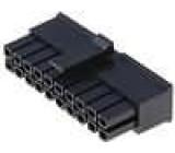 Zástrčka kabel-pl.spoj zásuvka 3mm 20 PIN bez kontaktů 5A