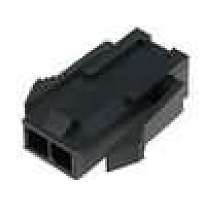 Zástrčka kabel-pl.spoj vidlice 3mm 2PIN řada Micro-Fit 3.0