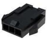Zástrčka kabel-pl.spoj vidlice 3mm 3 PINřada Micro-Fit 3.0