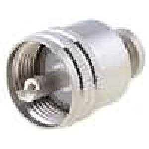 Zástrčka UHF (PL259) vidlice přímý šroubovací (twist-on)