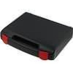 Zásobník - přepravní kufřík 240x170x42mm černá plast