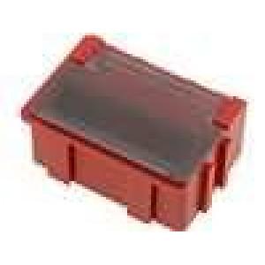 Zásobník - ESD červená Liastat (odvádějící náboj)