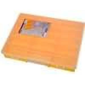Zásobník - krabička s přihrádkami 370x295x58mm